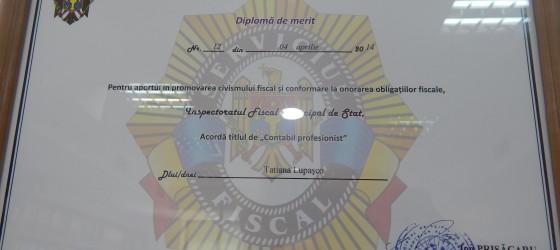 E' stato premiato il Capo Contabile di Cedacri International