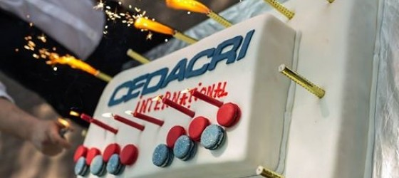 Cedacri International  ha sei anni. Auguri!!!